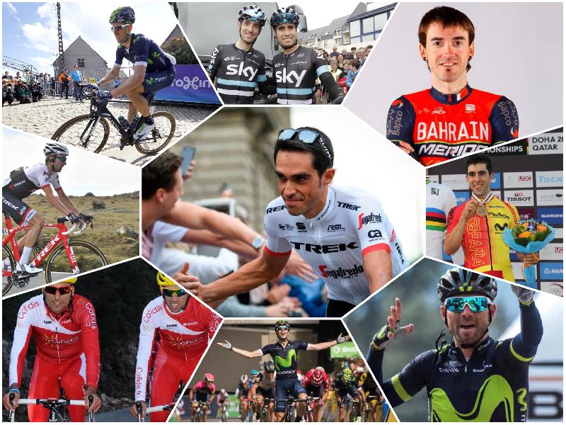Collage españoles Tour
