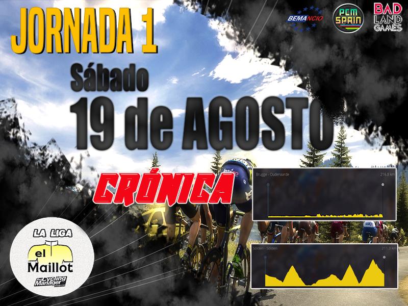 Crónica Jornada 1 - Liga PCM