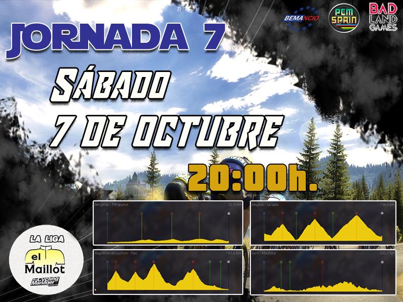 Cartel Jornada 7