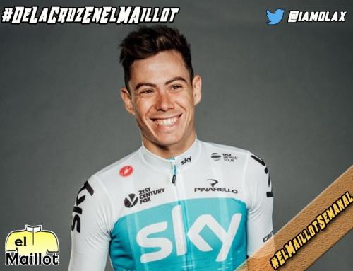 """De la Cruz, en El Maillot Semanal: """"La idea es liderar al Sky en la Vuelta a España"""""""