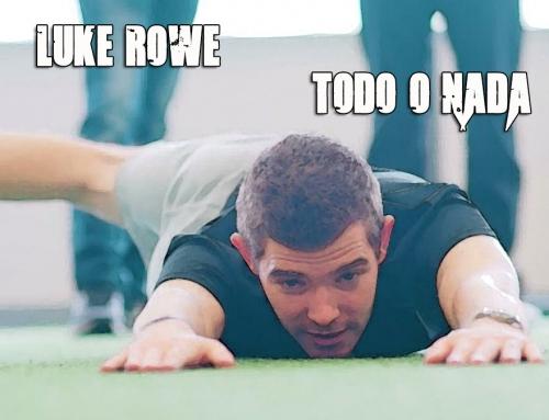 Luke Rowe, todo o nada medio año después de su lesión