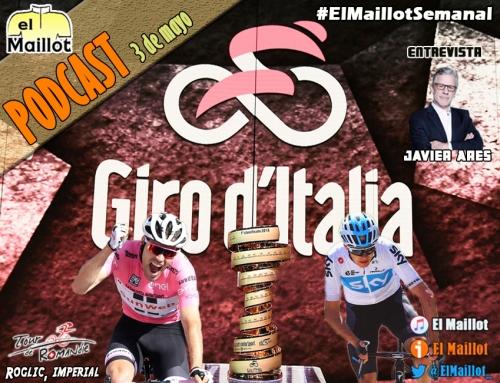 El Maillot Semanal #46 (03/05/2018) – Giro de Italia 2018: recorrido, favoritos y todos sus secretos. Entrevistamos a Javier Ares