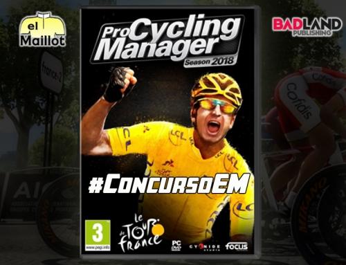 ¡Gana un Pro Cycling Manager 2018 con el #ConcursoEM!
