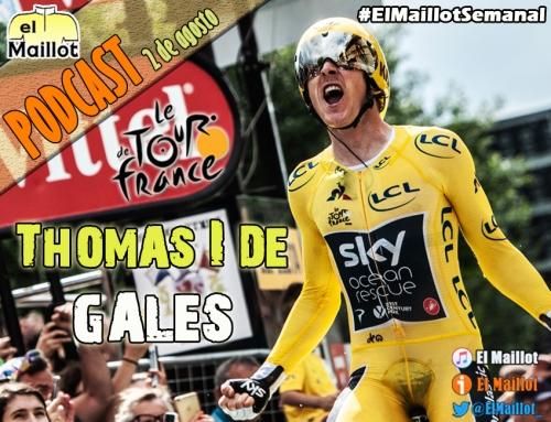 El Maillot Semanal #59 (02/08/2018) – Thomas remata el Tour de Francia en París. Previa de la 'Klasikoa' y fichajes